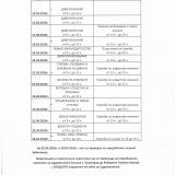 График за подготовка на кандидат курсисти-придобиване право на лов 2018